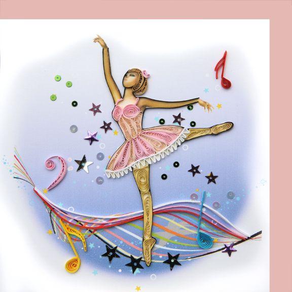 Открытки балерина, открытки