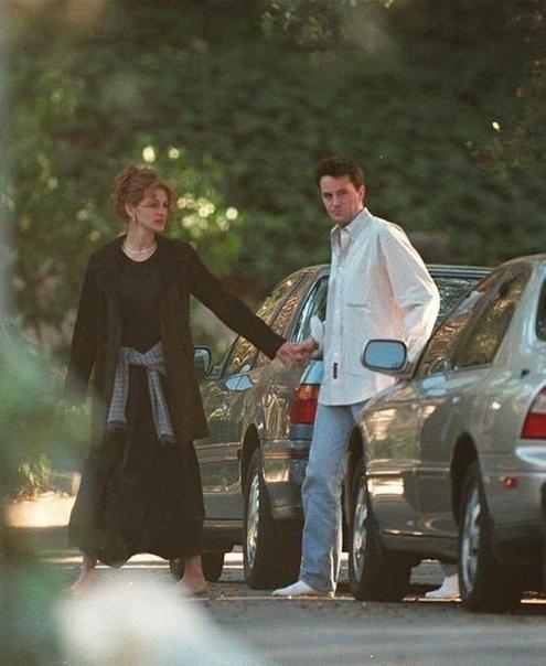 Мэттью Перри и Джулия Робертс были парой в далеких 90-х!