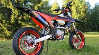 KTM 450 EXC-F 2020 Stunt Bike Project   Arttu Stenberg