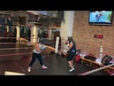 Women Sparring @ Work Train Fight NoHo NYC 6 7 19