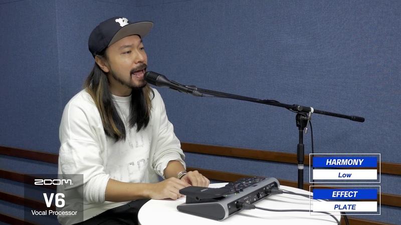 Kenta Ebara demos ZOOM V6 ~Harmony~