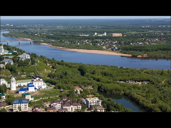 Kirov (Vyatka), Russia. The Most Eastern Town of Ancient Russia. Founded in 1174. Live