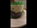 Торт на тему Гномео и Джульетта