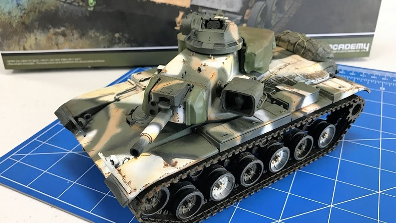 Building the Academy Models M60 A2 Starship including painting and weathering