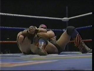 Latin Lover & Panterita Del Ring vs Juventud Guerrera & Fuerza Guerrera (National Tag Team Titles)