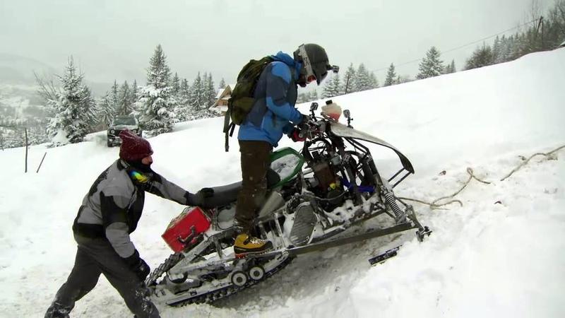 Сирена против снегопада Страсть к моторам