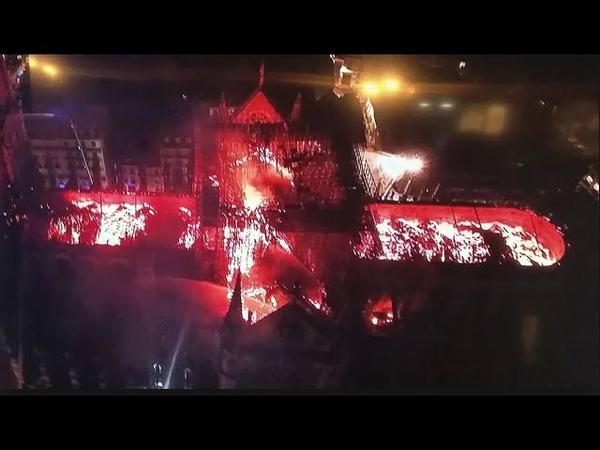 Brand von Notre Dame Ein Werk der Endzeitsekten