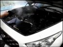Infiniti FX35 Мойка двигателя паром