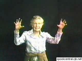 Съемки эпизода с призраком библиотекарши (Ghostbusters, 1984)