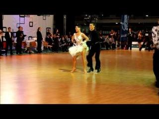 IDSF INTERNATIONAL OPEN LATIN / DSFO 2011 / Andrey Gusev Elizaveta Cherevichnaya -- Final Chacha