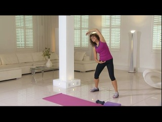 Nadia Sawalha's Fat to Fab Часть 4 All over body toner Фитнес аэробика