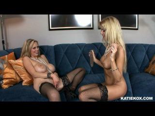 Katie kox katie kox & barbi sinclair double trouble