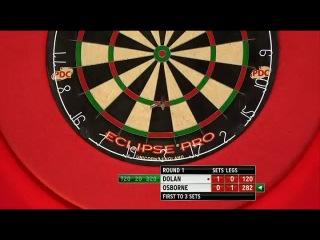Brendan Dolan vs Colin Osborne (PDC World Darts Championship 2014 / Round 1)