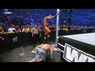 WWE Breaking Point WWE Championship I Quit match: Randy Orton vs. John Cena HD