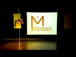 Miss Pole Dance Argentina 2012 Zoraya Judd