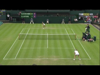 Wimbledon 2012 R2 Hlavackova vs Clijsters ENG