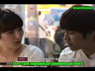 040810 MNeT Скандал (часть 2) c  Сонгю и Ухёном (Infinite)  rus sub