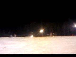 Skiting в Тульской области.