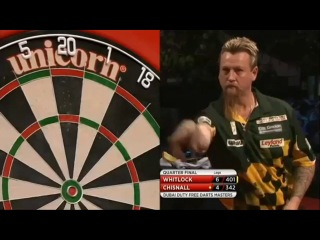 Simon Whitlock vs Dave Chisnall (2014 Dubai Duty Free Darts Masters / Quarter Final)
