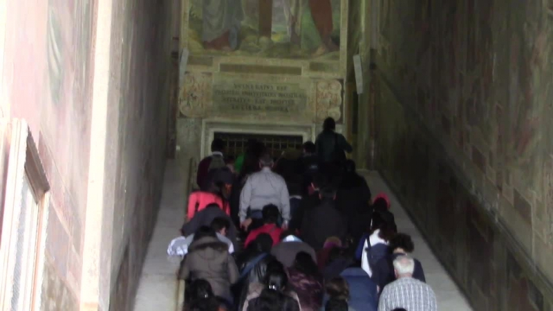 Святая лестница она же лестница Пилата Латеранская базилика Рим