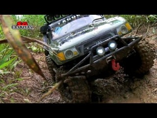 RC scale offroad 4x4 adventures - 3 trucks wondered off after the mudding trails