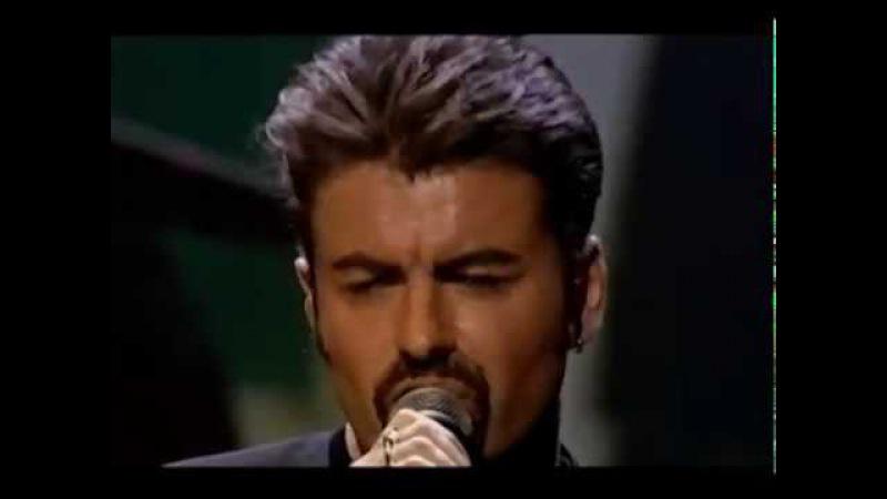 George Michael The Long Winding Road Faith Royal Albert Hall 10th April 1999