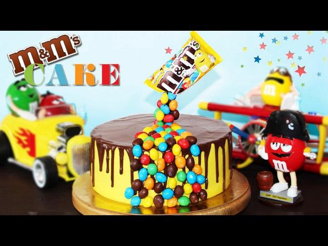 🍰 Гравитационный Торт M M's ♥ Необычный Торт На Детский Праздник ♥ Рецепты NK cooking