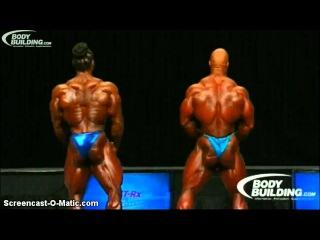 Mr. Olympia 2012 (Phil Heath vs. Greene, Kai)
