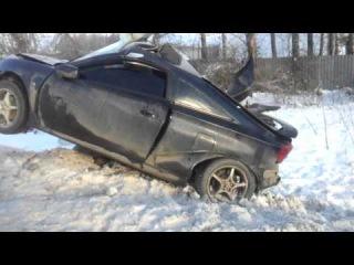 Авария в Смоленске поселок Тихвинка