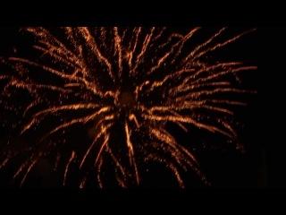 Fogo de artifício de ano novo de 2013 em Lisboa no Terreiro do Paço
