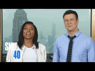 "SNL Host Taraji P. Henson Tells Taran Whether She's Like ""Cookie"" In Real Life"