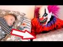 НОЧЬ. ОПАСНЫЙ КЛОУН РЯДОМ.Scary Killer Clown