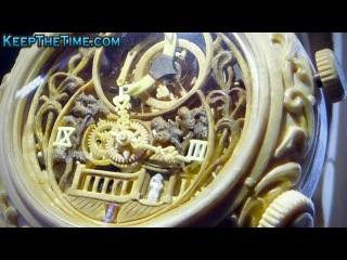 Handmade Wooden Watches by Valerii Danevych at Baselworld Watch Show
