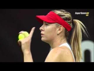 Maria Sharapova vs Petra Kvitova FULL MATCH Fed Cup 2015 PART 1