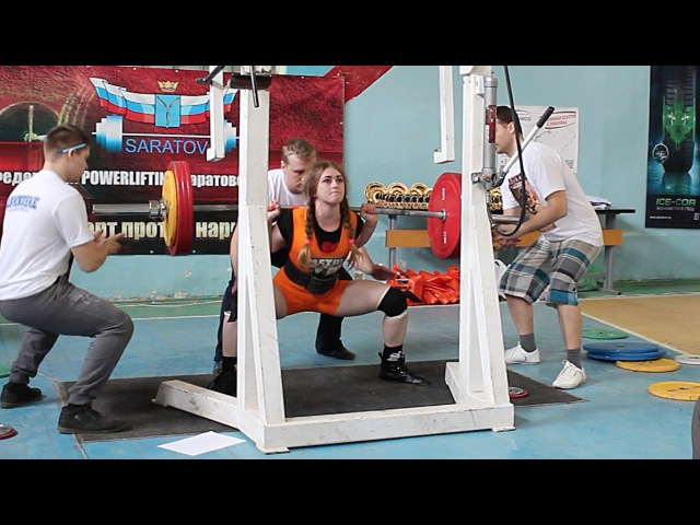 Julia Vins Total 1000 lbs Powerlifting Meet Iron Bull 22 3 2015