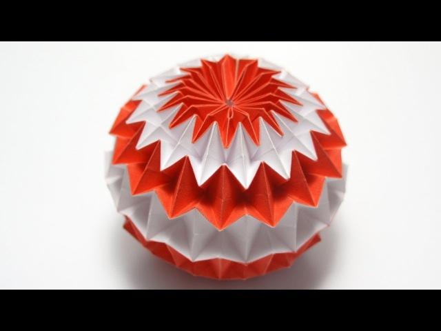 Origami Magic Ball (Dragons Egg by Yuri Shumakov)