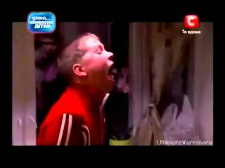 Crazy ukrainian kid goes Death Metal