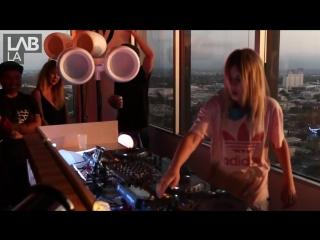 ALISON WONDERLAND trap, hip hop and bass DJ set in The Lab LA