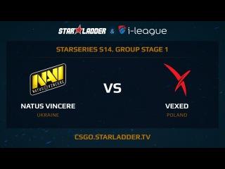 Natus Vincere vs. Vexed @ de_overpass