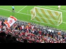 Gol de Müller 4-0 en 82' Euforia grada que responde al speaker/Bayern Múnich 4-Barça 0