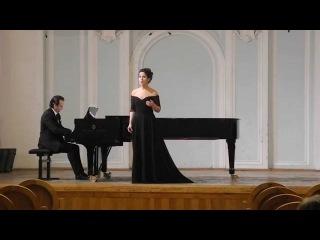 """Дебюсси """"Чудесный вечер"""" - Debussy """"Beau soir"""" (Paul Bourget)."""