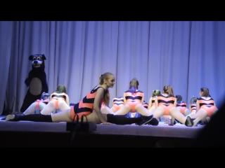 Пчёлки и Винни-Пух. Оренбург.Школа танцев «Кредо»