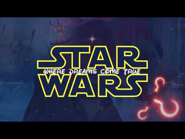 Star Wars The Force Awakens - Disney Mashup