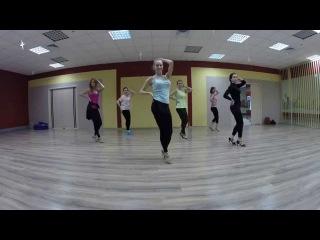 Бачата связка 1 вариант (медленно) / Dance Center