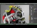 We Love Kicks - Photoshop Making of - Skull 01