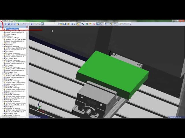 5 Edgecam TestDrive tutorial Creating toolpaths in workflow
