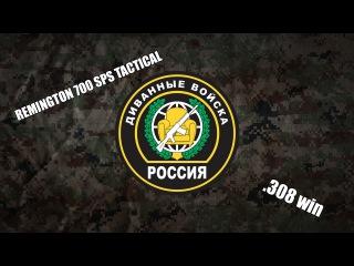 Диванный обзор: Rem 700 SPS Tactical .308