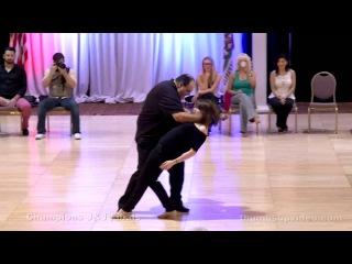John Lindo and Alyssa Glanville - Capital Swing Champions Jack & Jill - Third Place