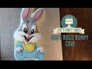Baby Bugs Bunny cake: How to ice a cake in fondant