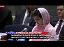 Girl Shot in Head by Taliban Speaks at UN Malala Yousafzai United Nations Speech 2013